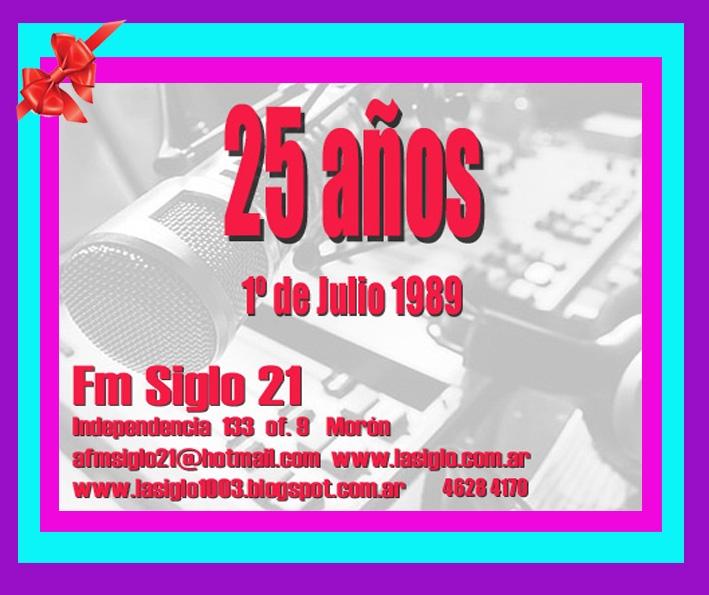 Tarjeta de cumple radio 2014