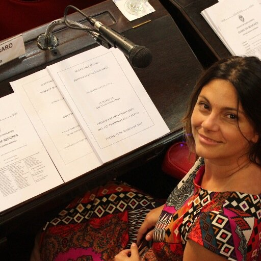 senadora provincial Micaela ferraro