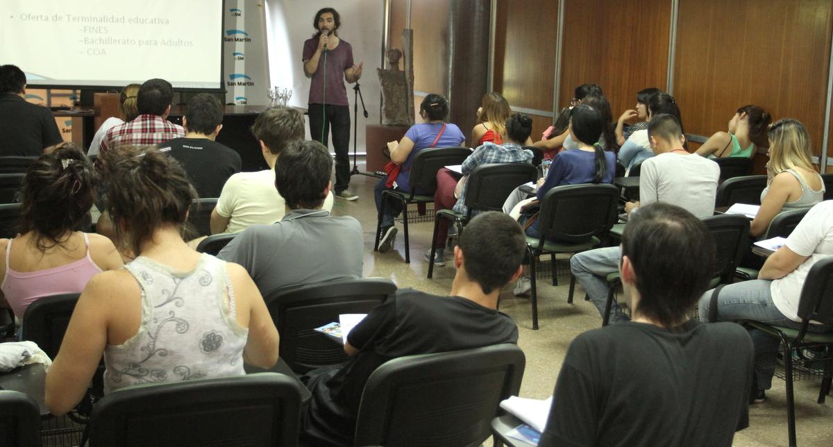 """El_Municipio_realizó_una_capacitación_laboral_con_los_ch icos_de_""""Volvé_a_la_Escuela"""""""