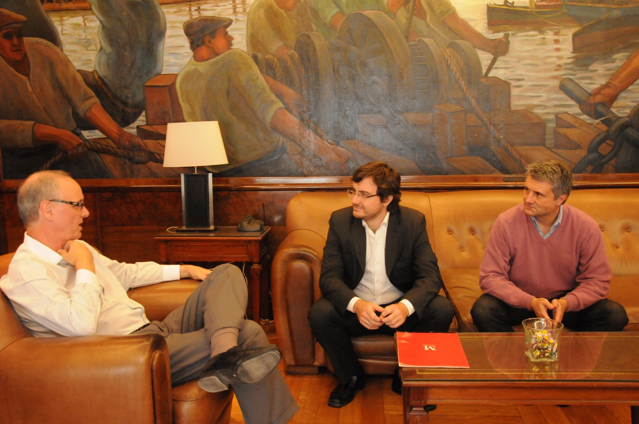 Lucas Ghi con Ministro de Salud de la Nacion