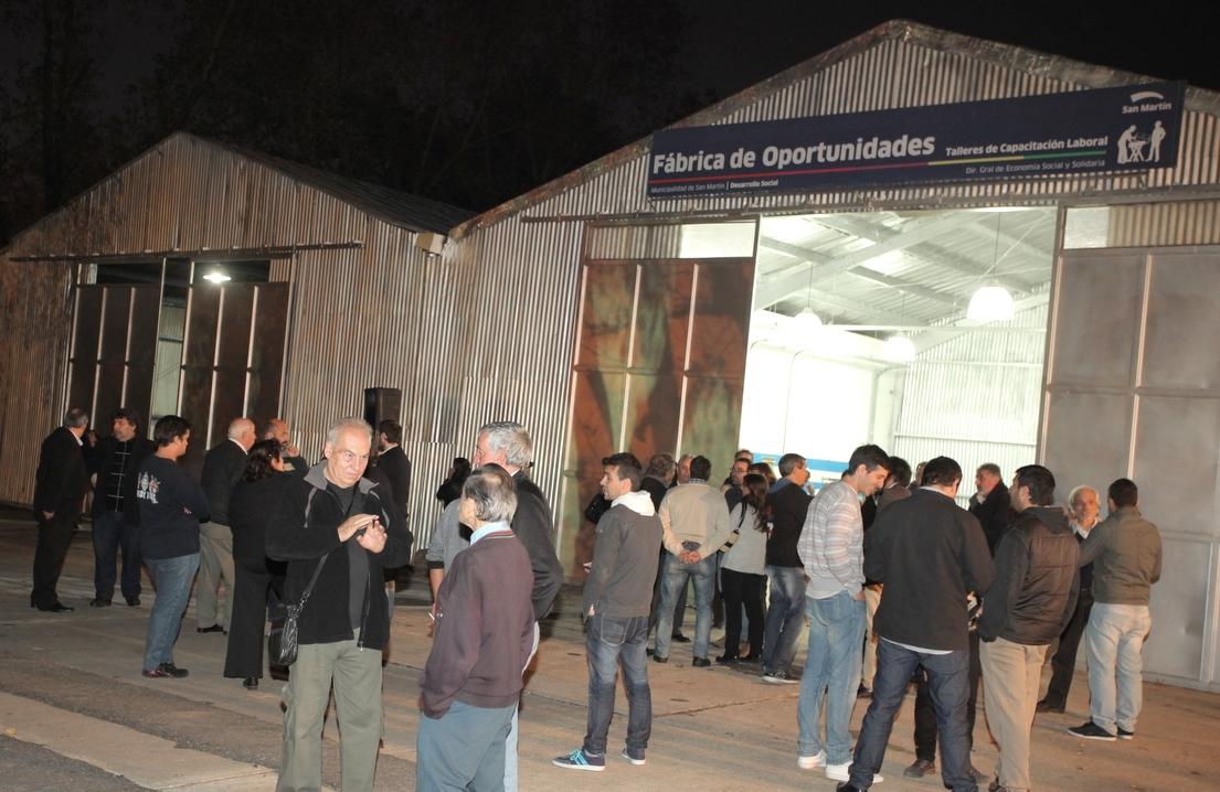 El Municipio enseñará oficios en el espacio ubicado en Villa Maipú