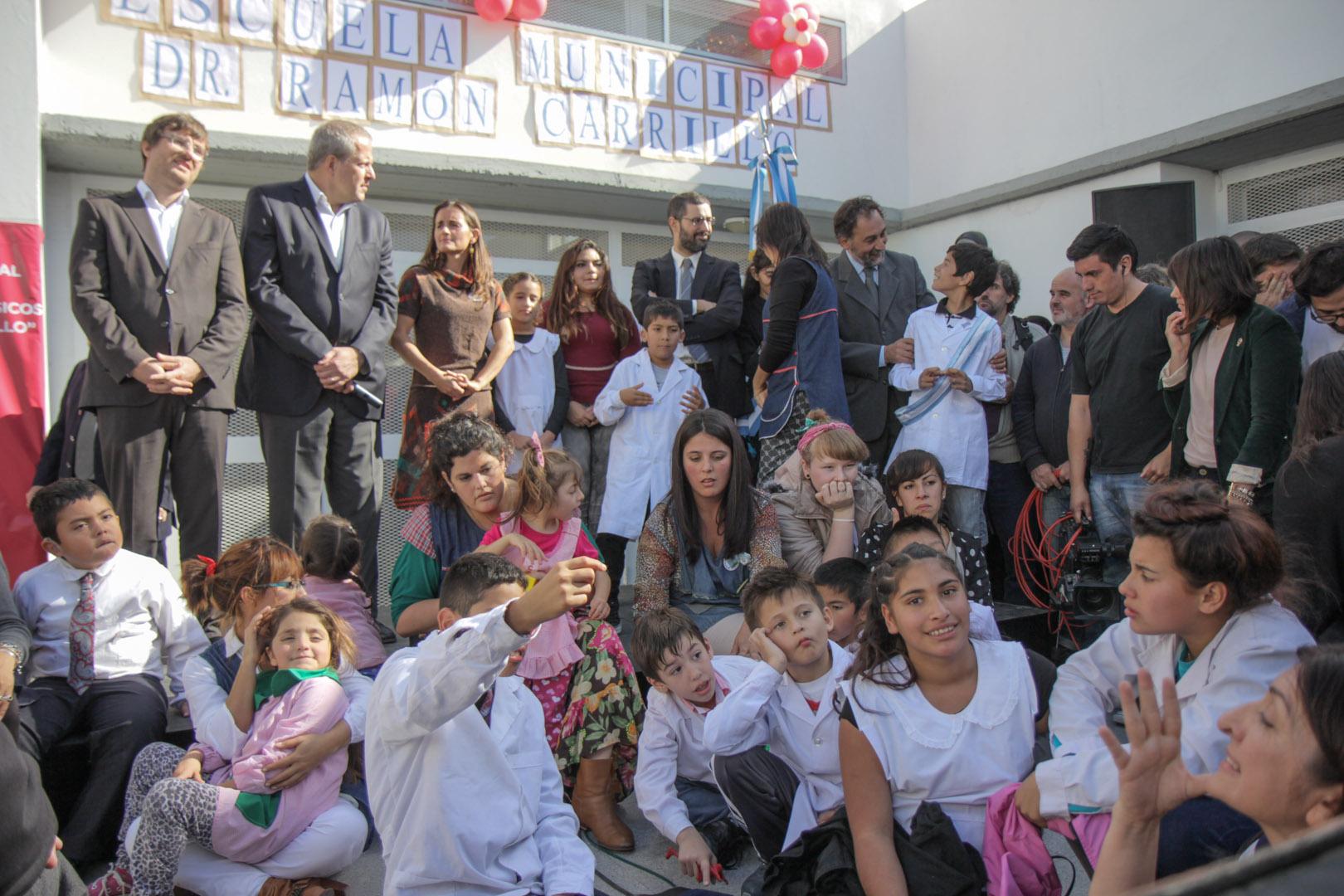 Inauguración Escuela Ramón Carrillo (3)