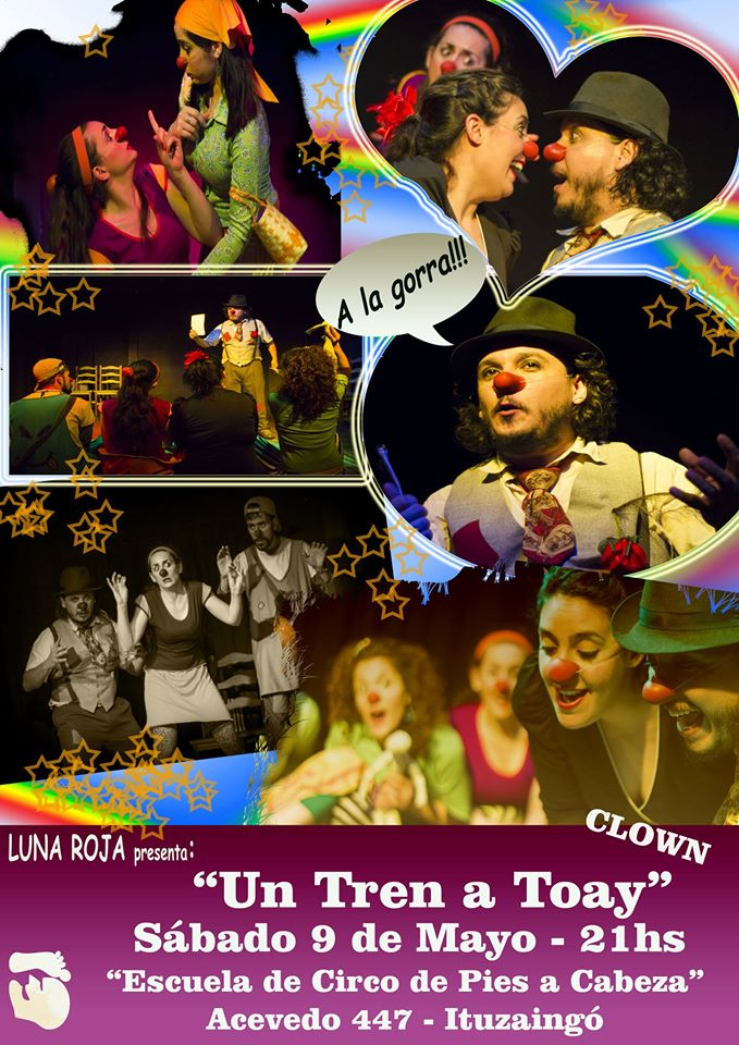 flyer Un tren a Toay Mayo 2015